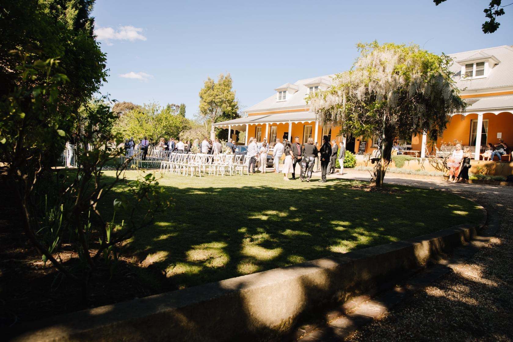 Fitzory Inn Wedding